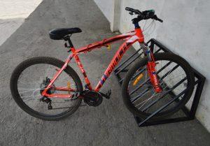 велопарковка нержавеющая