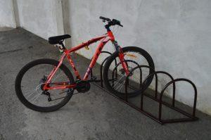 Велопарковка коричневая