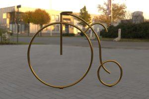 Ретро велопарковка