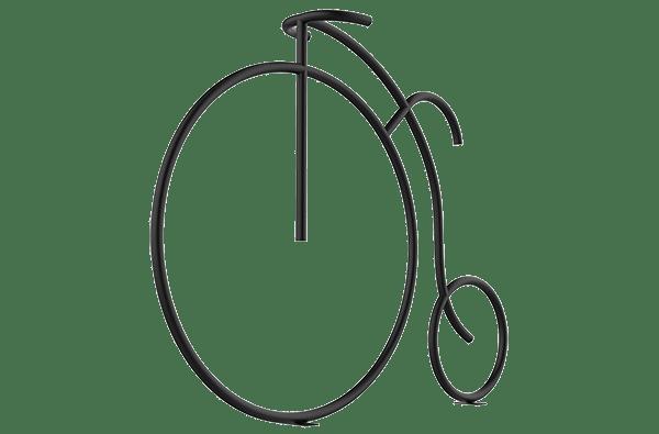 Велопарковка ретро