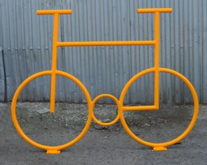велопарковка на 8 мест