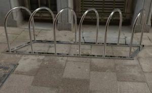 Велопарковка из нержавеющей стали