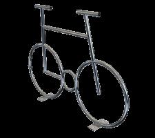 Велосипед из нержавеющей стали